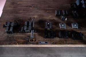 オーダー家具 機材収納棚