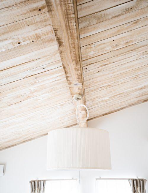 天井木材のエイジング